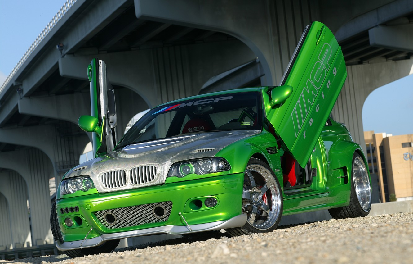 Photo wallpaper BMW, Bmw, Racing, e46, MCP, The Hulk