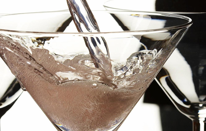 Photo wallpaper Stream, cocktail, Bubbles