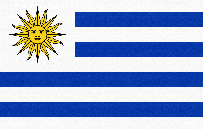 Photo wallpaper The sun, Flag, Photoshop, Uruguay, Uruguay