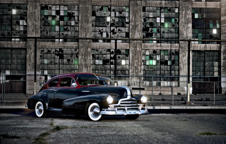Photo wallpaper machine, background, Pontiac'47