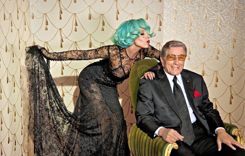 Photo wallpaper jazz, jazz, Lady Gaga, Lady Gaga, music music, Cheek to Cheek, Tony Bennett, Tony Bennett