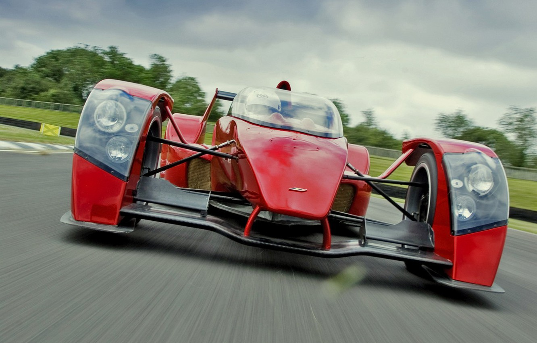 Photo wallpaper machine, race, speed
