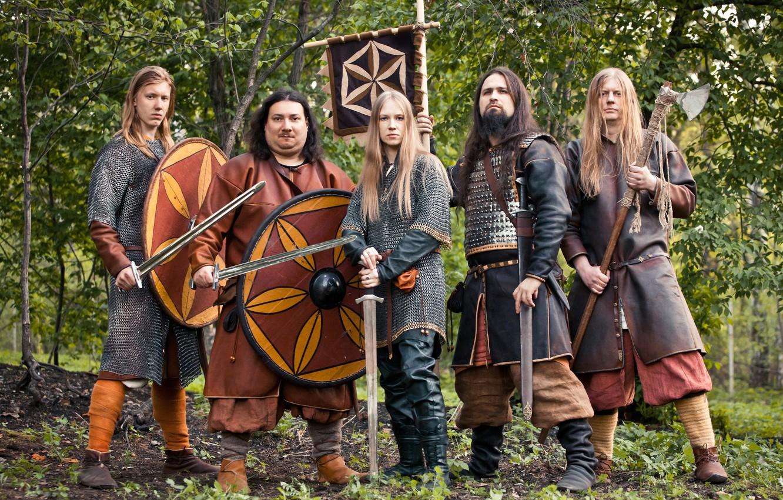 Wallpaper group, metal, band, russian, Arkona, pagan, Arkona