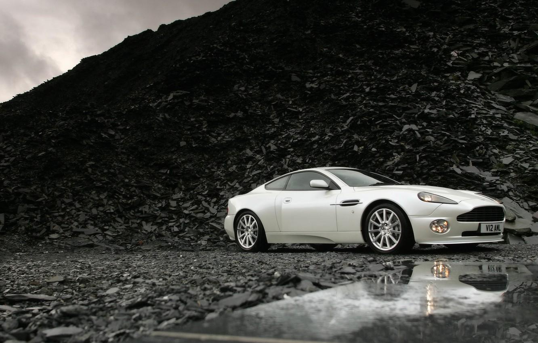 Photo wallpaper background, Aston Martin, V12, Vanquish S