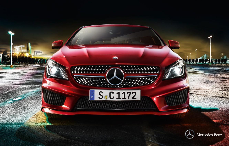 Photo wallpaper Mercedes-Benz, 2012, Mercedes, CLA-class, x117
