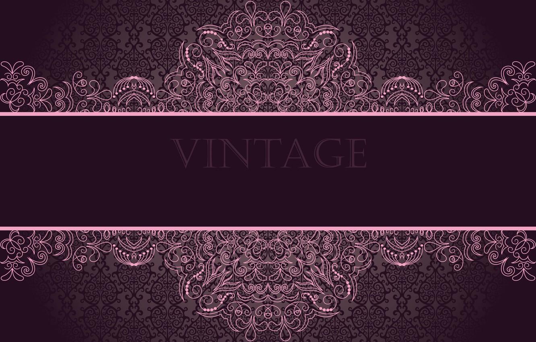 Photo wallpaper patterns, emo, ornament, vintage, vintage