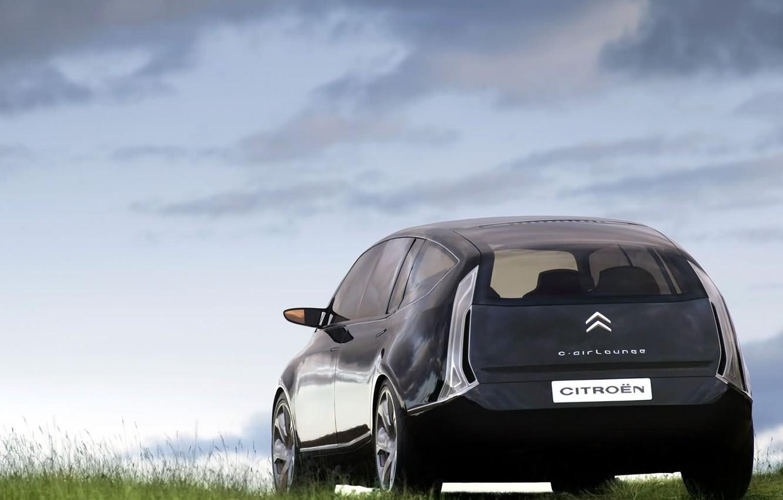 Photo wallpaper Concept, Clouds, Auto, C-Airlounge, Citroën