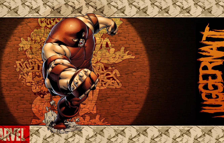 Photo wallpaper Style, Marvel, Comics, Juggernaut, Honnoror