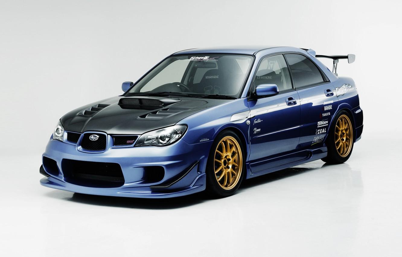 Photo wallpaper Subaru, Impreza, WRX, Subaru, Impreza