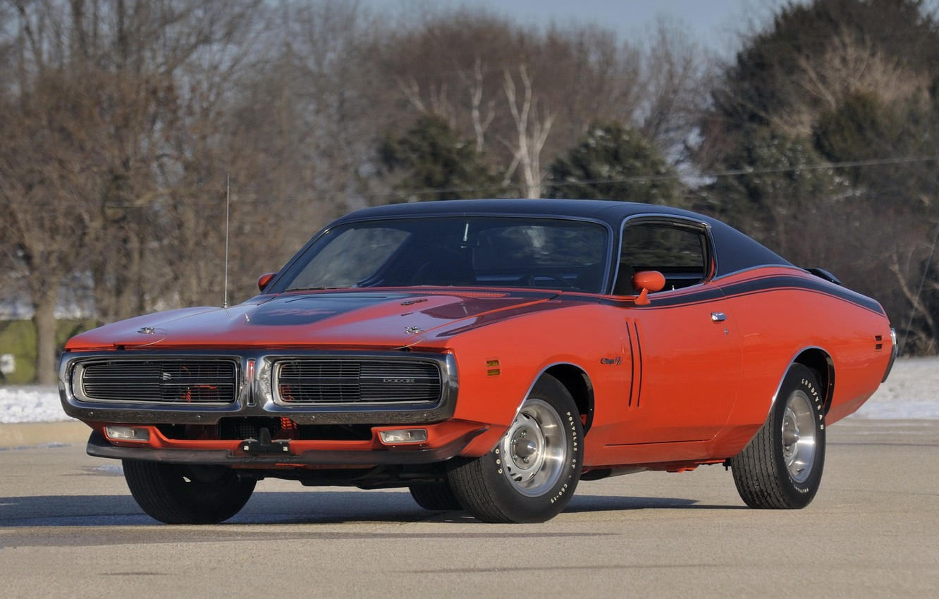 Photo wallpaper machine, Dodge, Muscle, Charger