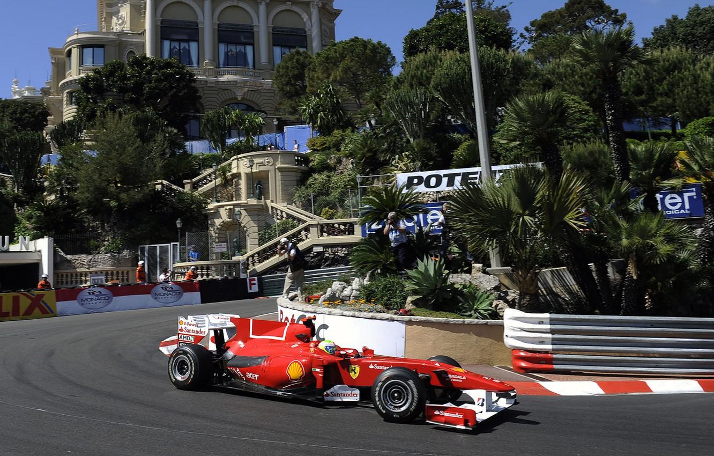 Photo wallpaper ferrari, massa, Grand Prix, monacogp, felipe, монако2010