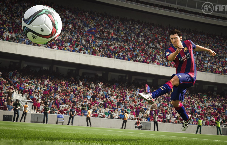 Photo wallpaper legend, barca, barcelona, simulator, FIFA, Fifa 16, fifa.messi.leo