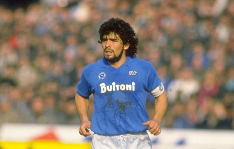 Wallpaper Captain Napoli Azzurri Diego Armando Maradona Buitoni Images For Desktop Section Sport Download