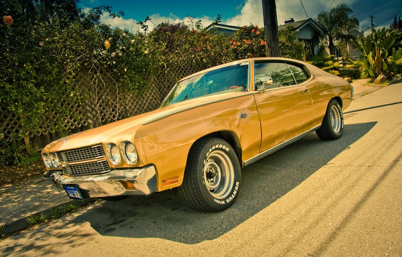 Photo wallpaper Chevrolet, muscle car, Chevelle, Chevrolet Chevelle