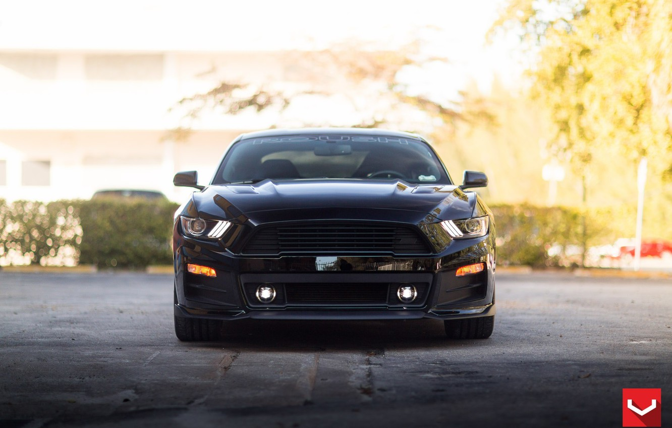 Photo wallpaper Mustang, Ford