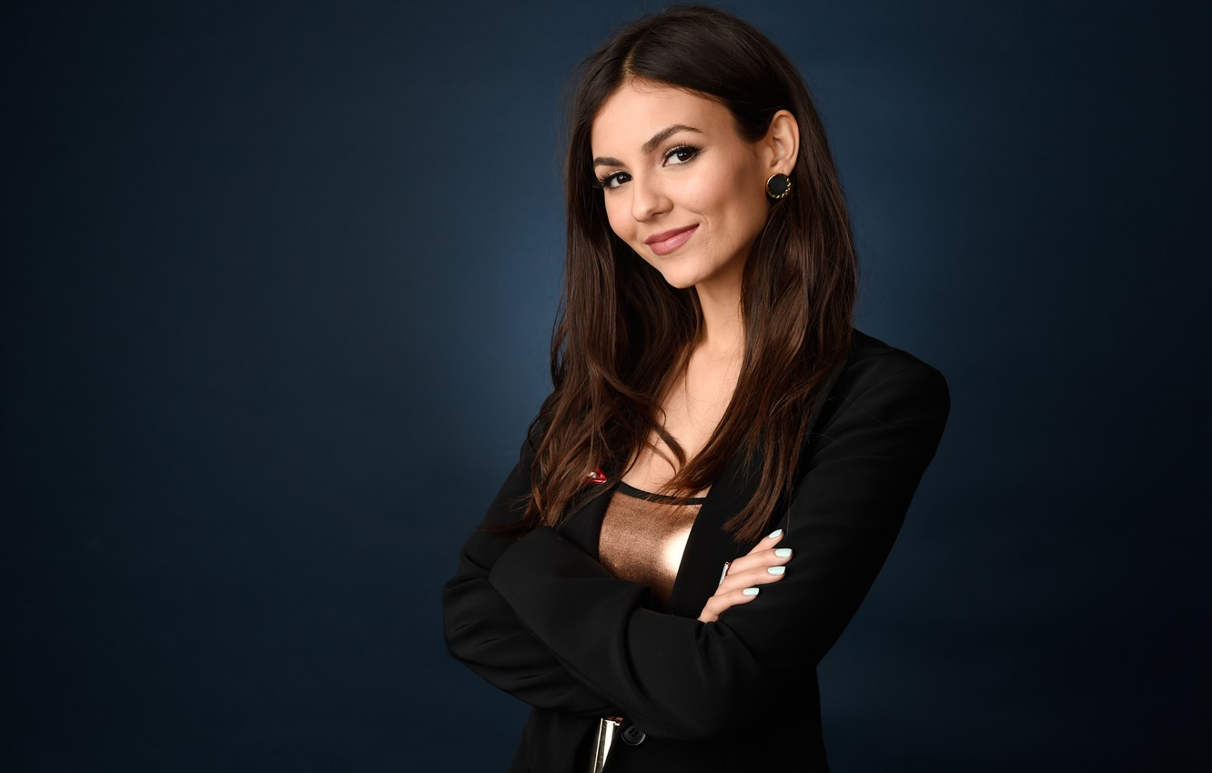 Photo wallpaper smile, model, actress, brunette, hairstyle, photographer, costume, pictures, singer, Victoria Justice, Victoria Justice, Chris Pizzello, …