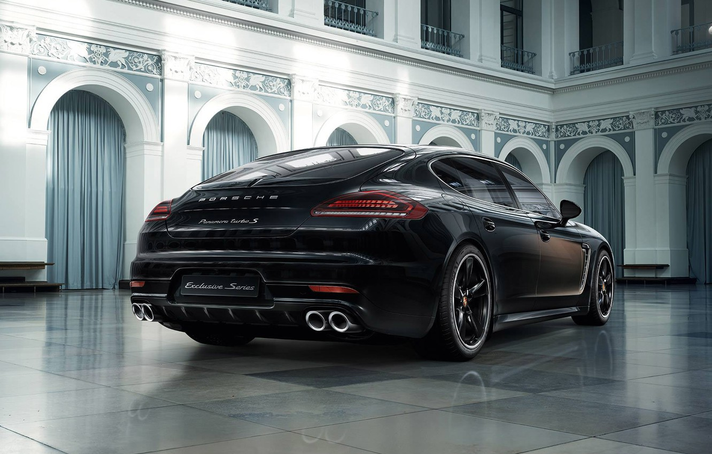 Photo wallpaper Porsche, Panamera, Turbo S, Exclusive Series