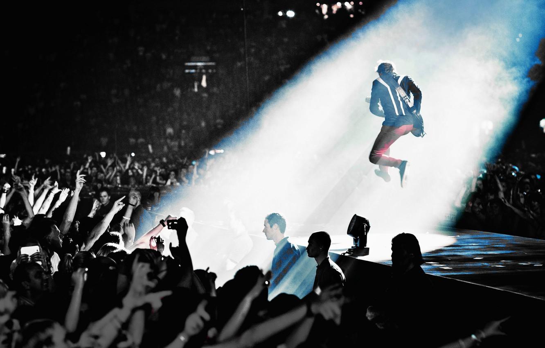 Wallpaper Guitar People Concert Muse Matthew Bellamy Live