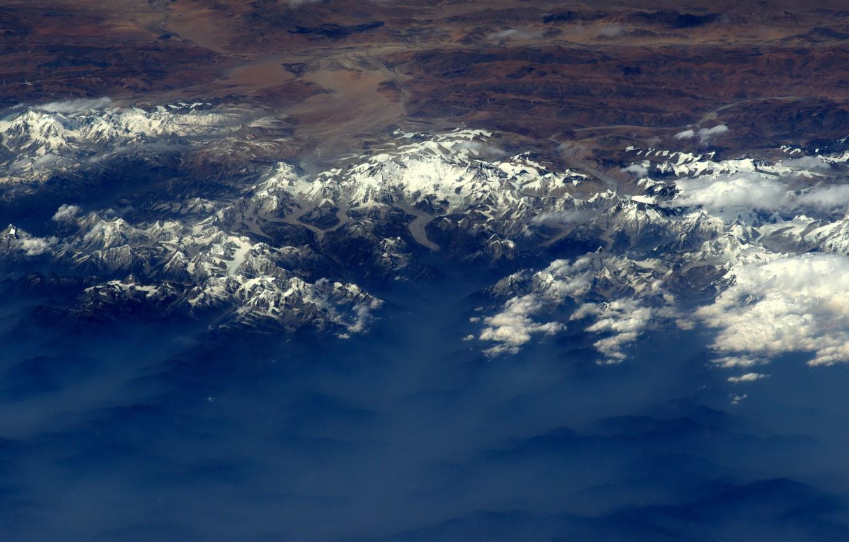 Photo wallpaper Earth, Everest, Nepal