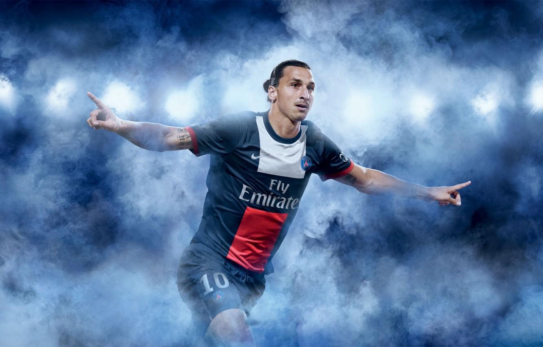 Photo wallpaper football, Paris, sport, football, samurai, Paris saint germain, Zlatan Ibrahimovic, footballer, psg