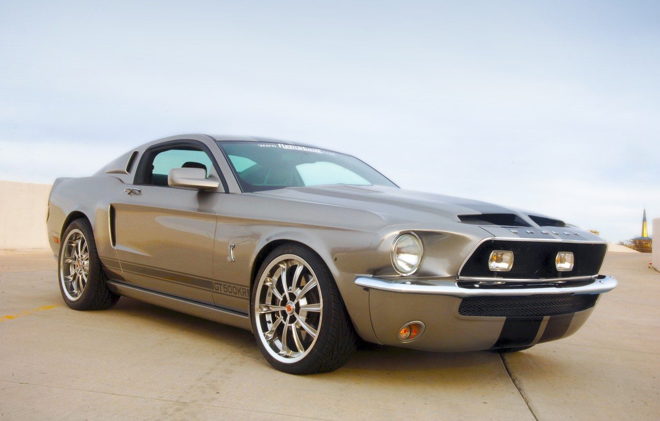 Photo wallpaper Mustang, Ford, Shelby, GT500KR