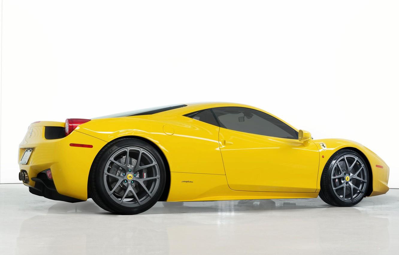 Photo wallpaper coupe, Ferrari, supercar, 458
