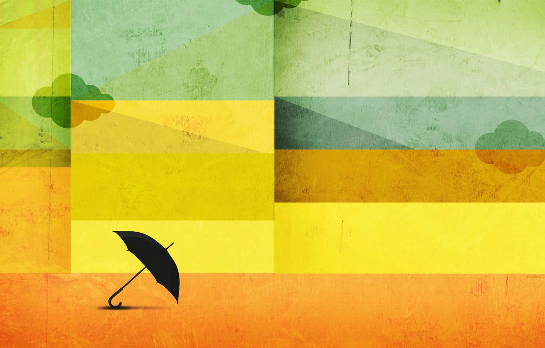 Photo wallpaper abstraction, strip, umbrella