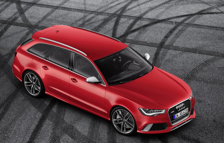 Photo wallpaper machine, Audi, Audi, RS6
