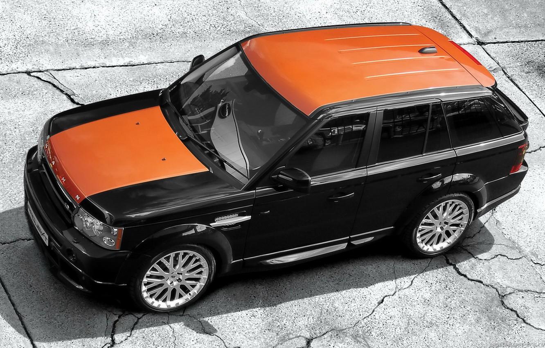 Photo wallpaper Range Rover Sport