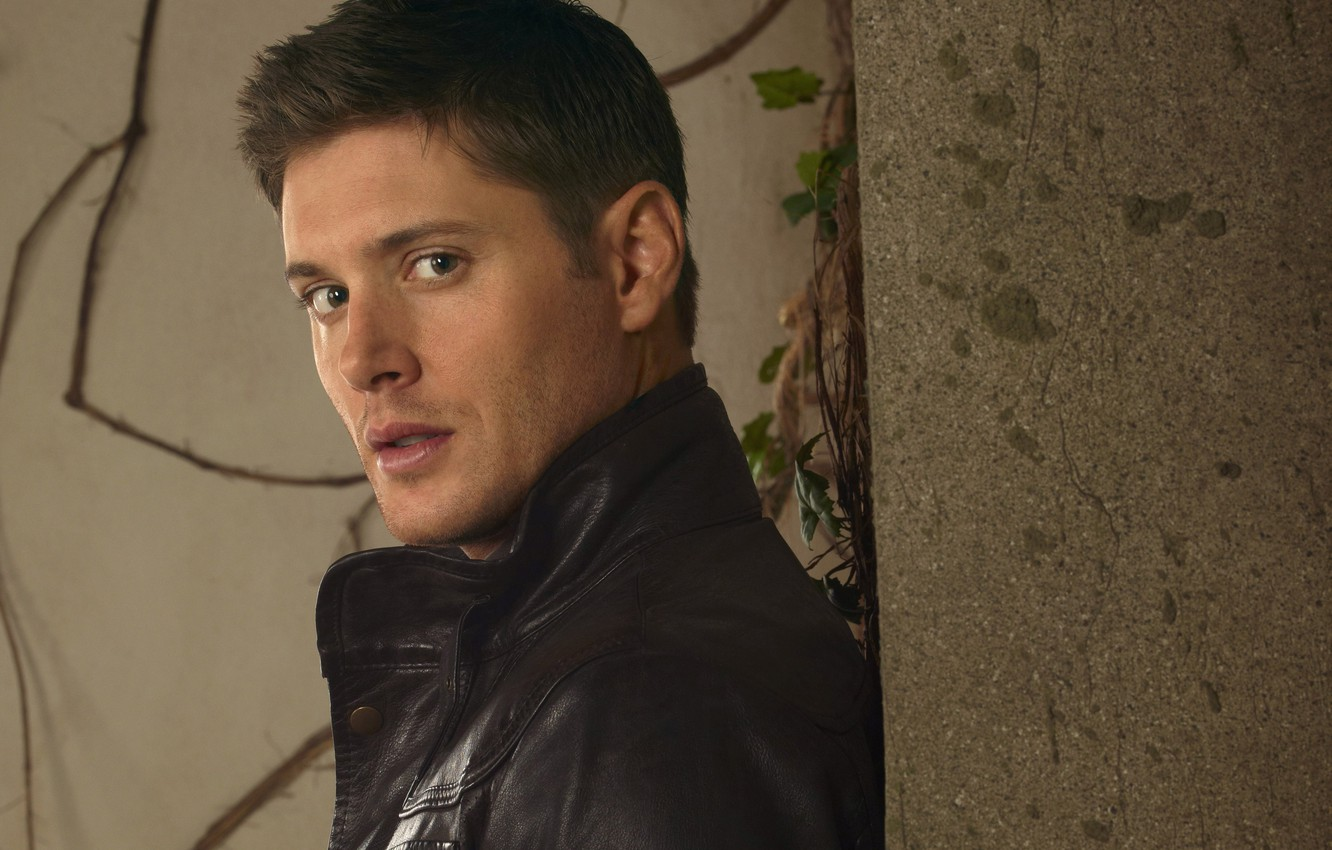 Photo wallpaper wall, jacket, actor, male, the series, Supernatural, Jensen Ackles, Supernatural, Dean Winchester, Dean Winchester, Jensen …