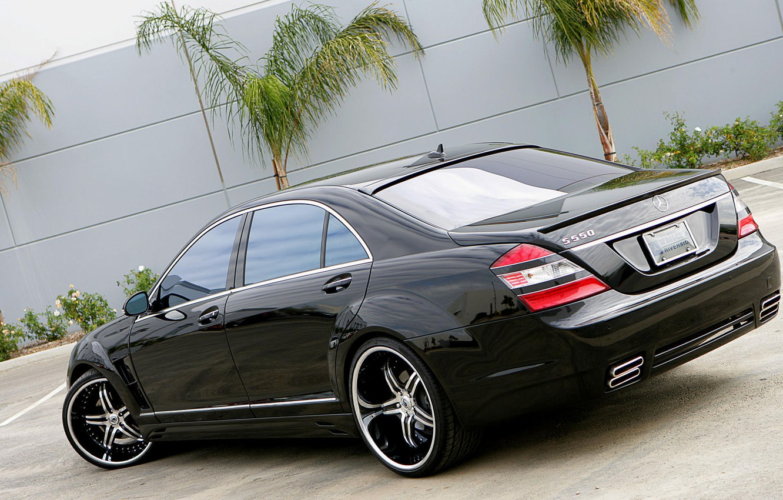 Photo wallpaper asphalt, Mercedes, drives, chrome, gelding, S550, pasas, Nintendo, 550, ASANTI, weels