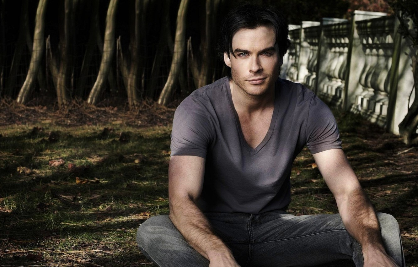 Photo wallpaper actor, male, the vampire diaries, Ian Somerhalder, the vampire diaries, Ian Somerhalder