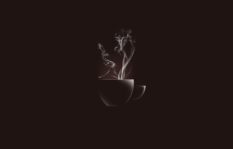 Photo wallpaper coffee, couples, Essence