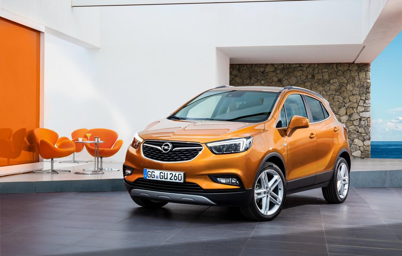 Photo wallpaper Opel, Opel, crossover, Mokka, mocha