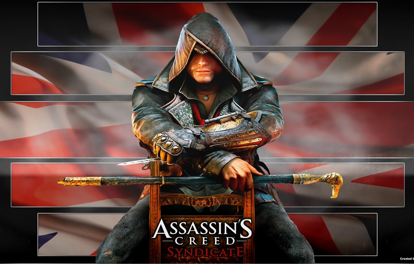 Wallpaper Flag Assassin Jacob Fry Assassin S Creed Syndicate