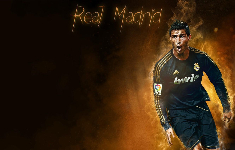 Wallpaper Cristiano Ronaldo Real Madrid Sport Soccer C