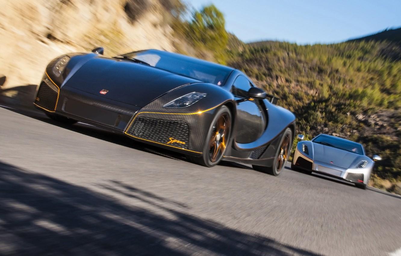 Photo wallpaper pair, carbon, supercars, 2014, Spania, GTA Spano