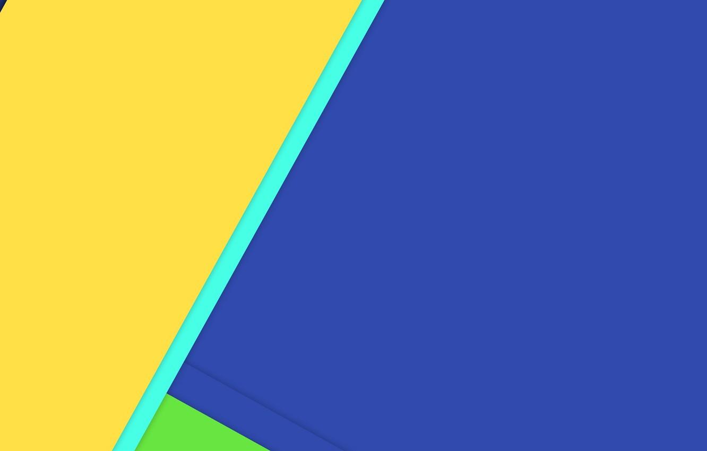 Photo wallpaper line, blue, yellow, texture, green