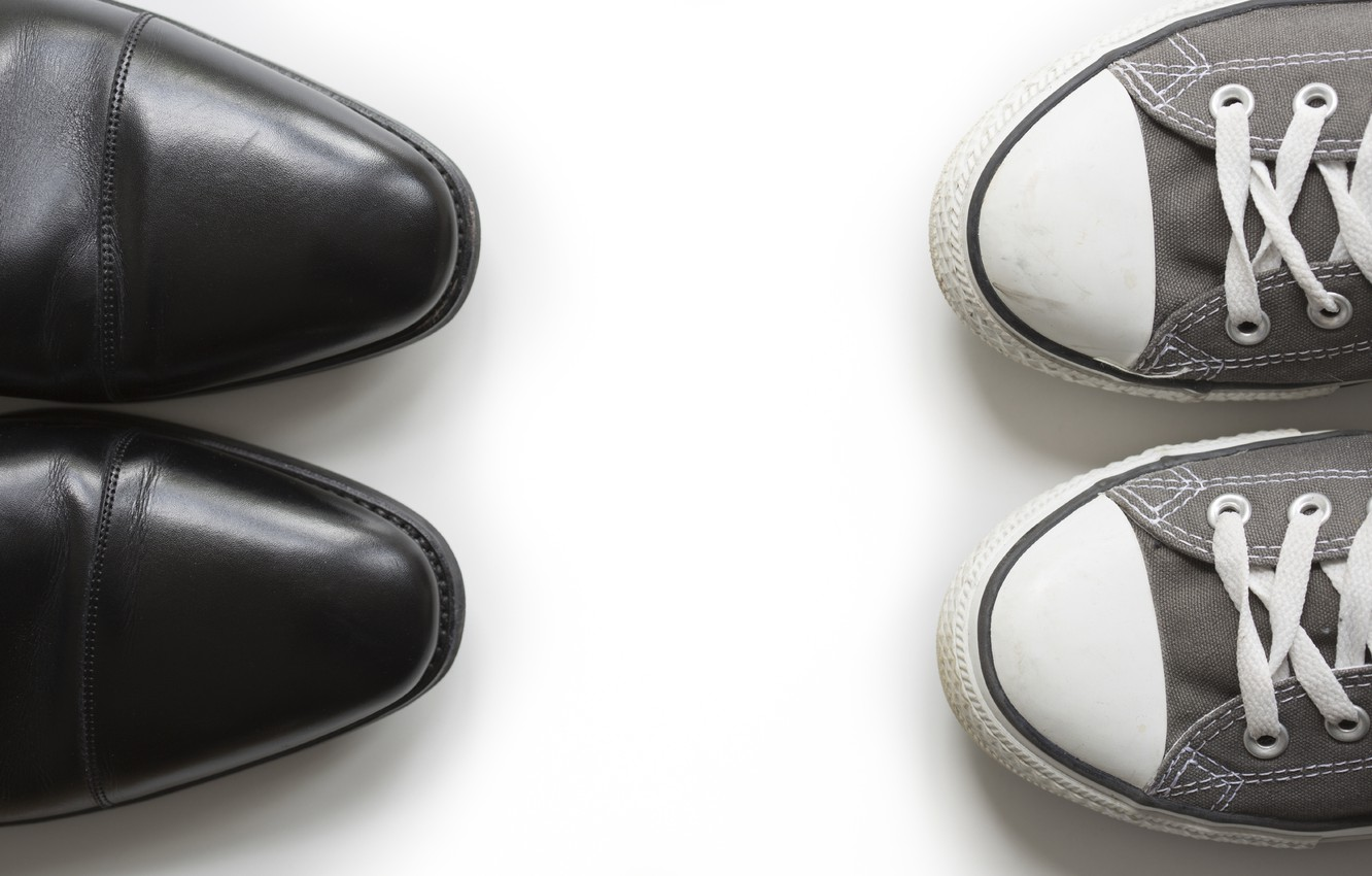 Photo wallpaper shoes, casual, formal shoes