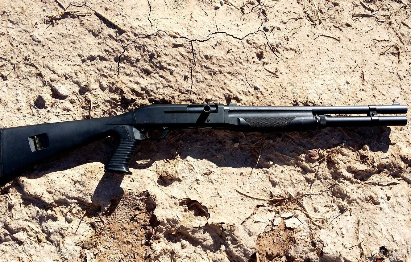 Photo wallpaper weapons, the gun, self-loading, smoothbore, store, Benelli M1