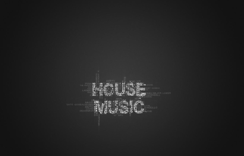 Wallpaper Style Music Minimalism Words House Music