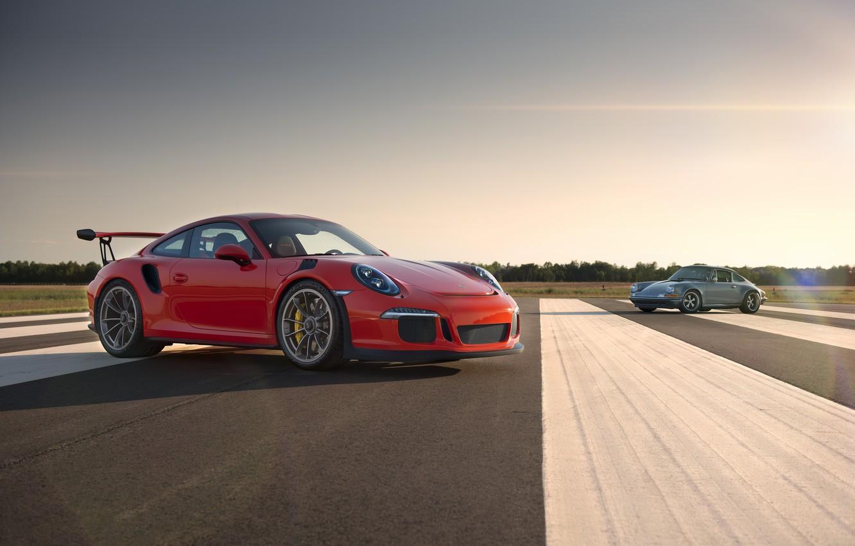 Photo wallpaper 911, Porsche, GT3, Singer
