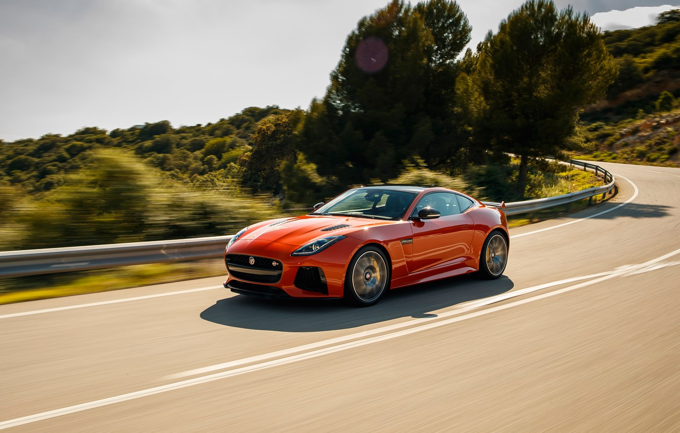 Photo wallpaper coupe, Jaguar, Jaguar, Coupe, F-Type