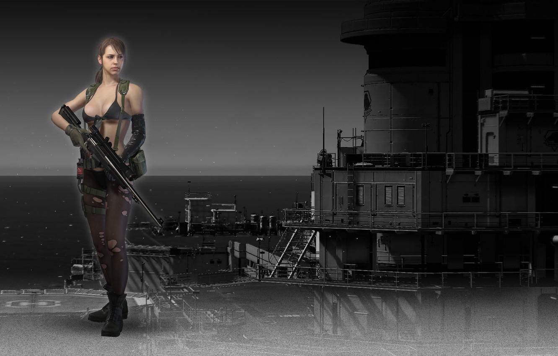Wallpaper Konami Metal Gear Solid V The Phantom Pain