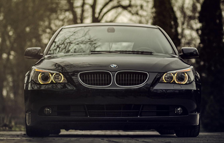 Photo wallpaper lights, BMW, BMW, bumper, 520d