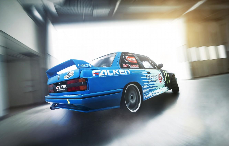 Photo wallpaper BMW, E30, Hawks, Side Yordanov, Drifting, Alexander Yazov's