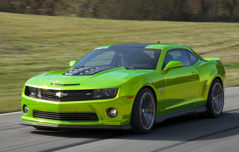 Photo wallpaper road, car, machine, Chevrolet, Camaro, speed, Hot Wheels