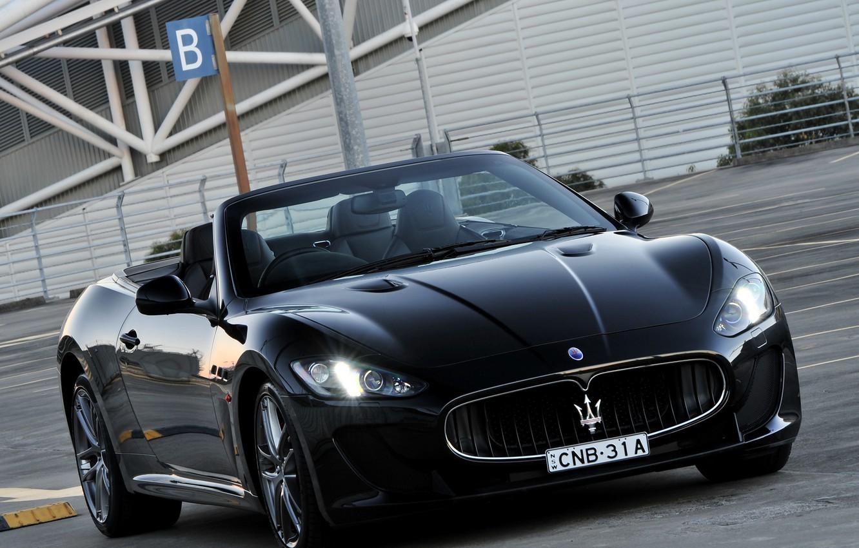 Photo wallpaper Maserati, au-spec, grancabrio