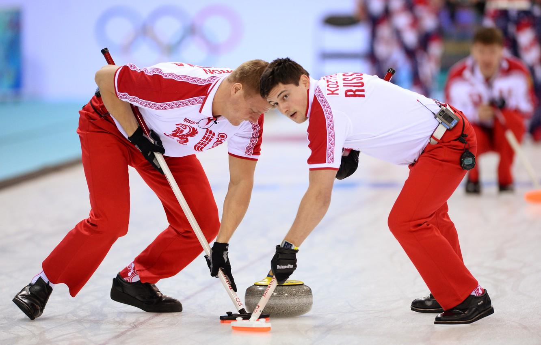 Photo wallpaper look, stone, ice, Russia, men, slide, Sochi 2014, The XXII Winter Olympic Games, Sochi 2014, …