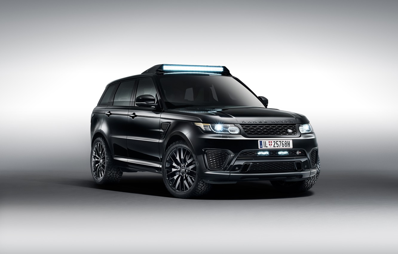 Photo wallpaper Range Rover, Sport, land Rover, range Rover, James Bond, James bond, 2015, 007 Spectre
